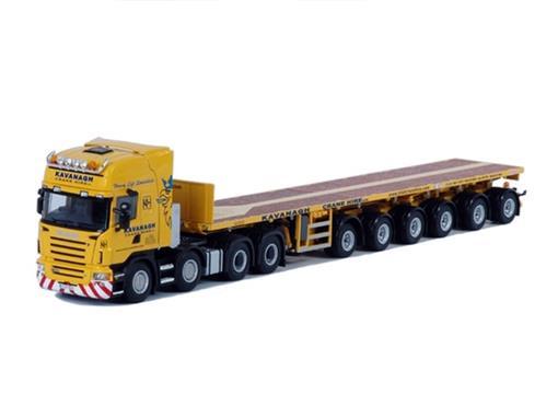 Scania: R Topline 8x4 -