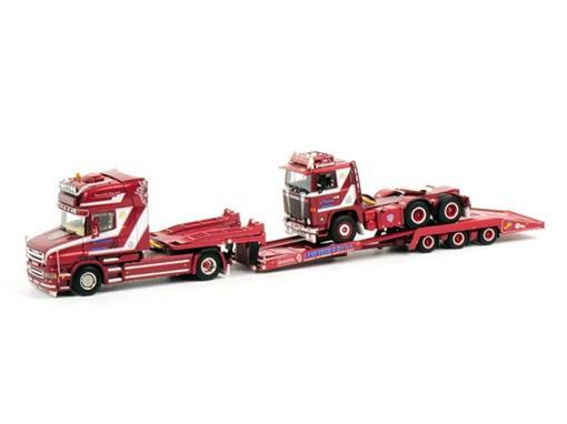 Set: Scania Torpedo Topline + Scania 141 c/ Trucktransporter