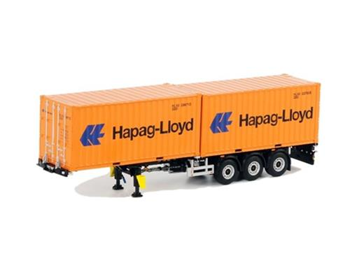 BV Container Chassis + 2x 20 FT Container