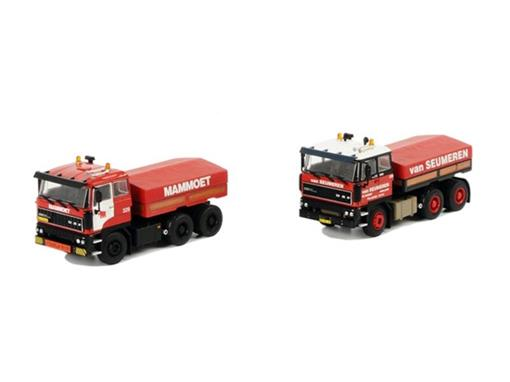 Set: Mammoet DAF Classics Box (DAF 3300 Mammoet e DAF 3300 Van Seumeren) - Cavalo - 1:50