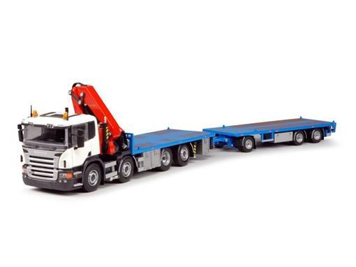Scania: T.B 5260z - P-serie - Dagcabine - 1:50