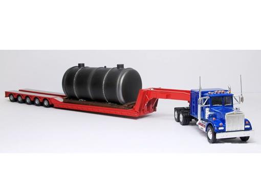 Kenworth: W925 with Low Loader and Boiler Load - 1:50