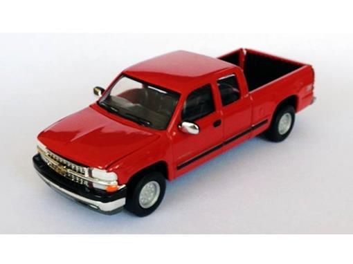 Chevrolet: Silverado Pickup - Vermelha - 1:50