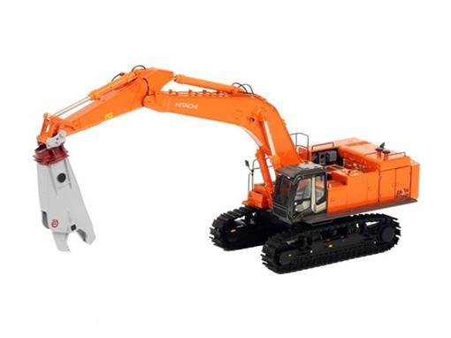 Hitachi: ZX870LCH-3 - Hydraulic Shear / Tesoura de Demolição - 1:50