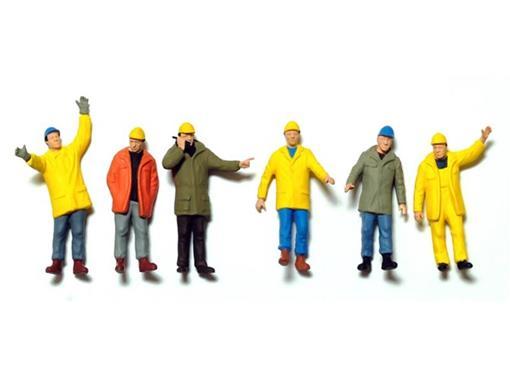 Set Figuras de Trabalhadores Industriais - 1:50
