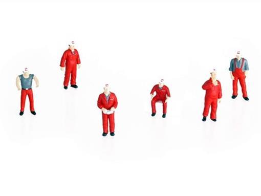 Figuras de Mecânicos - Mammoet - Set II - 1:50
