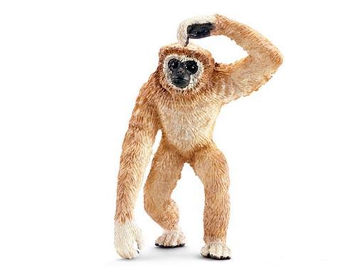 Macaco Gibão de Mãos Brancas - Schleich