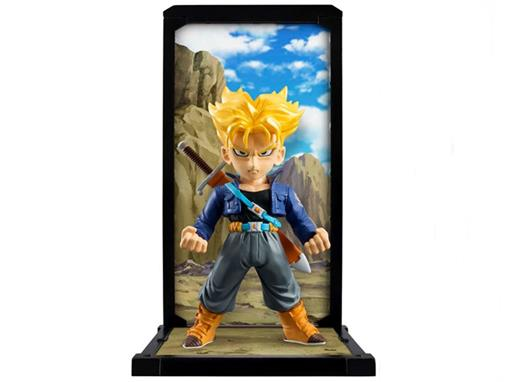 Estatueta Super Saiyan Trunks - Dragon Ball Z #004 - Tamashi Buddies - Bandai