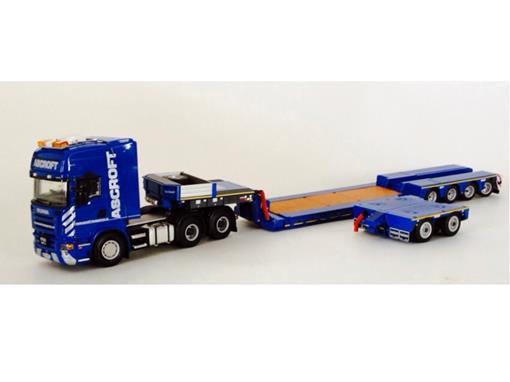 Scania: Topline Euro 4 Axle + INterdolly Prancha
