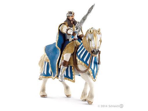 Boneco Cavaleiro Rei Griffin no Cavalo com Espada
