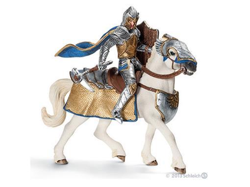 Boneco Cavaleiro Griffin no Cavalo com Martelo