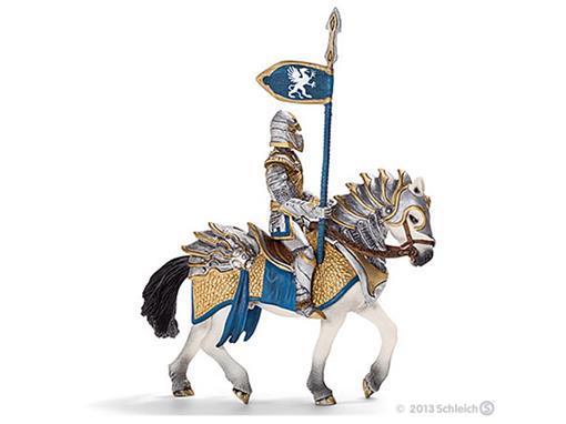 Boneco Cavaleiro Griffin no Cavalo com Lança