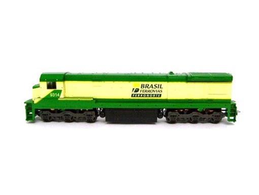 Locomotiva Elétrica C30-7 - BRASIL FERROVIAS - HO - Frateschi
