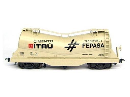 Vagão Tanque Cimento Itaú TPC 318313-1 - FEPASA - HO - Frateschi