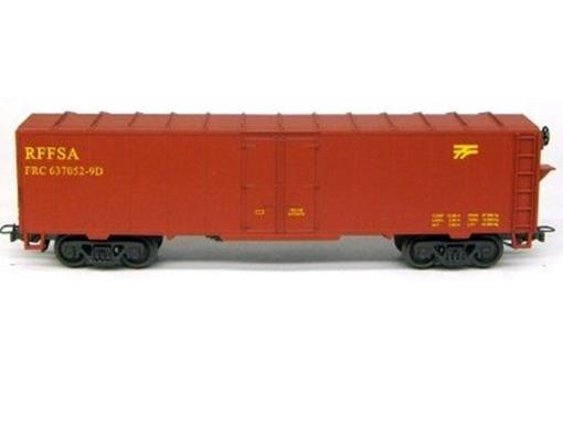 Vagão Fechado FRC (637052-9D) RFFSA - HO - Frateschi
