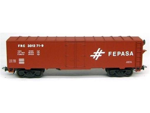 Vagão Fechado FRC (301271-9) - FEPASA - HO - Frateschi