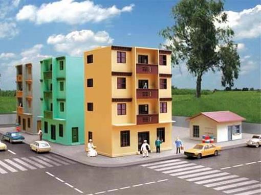 Prédio de Apartamento - HO - FRATESCHI