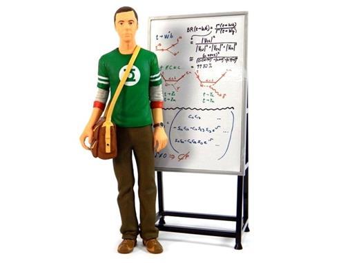 Boneco Sheldon Cooper - Green Lantern (Lanterna Verde) - The Big Bang Theory - 18 cm