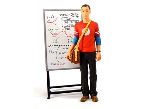 Boneco Sheldon Cooper - Flash - The Big Bang Theory - 18 cm