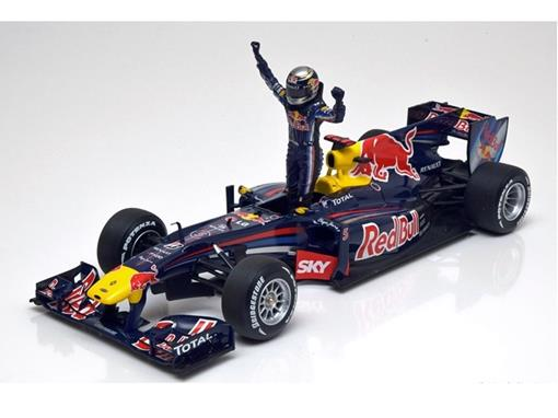 Red Bull Racing: Renault RB6 S Vettel (Winner Brazilian GP 2010) - 1:18