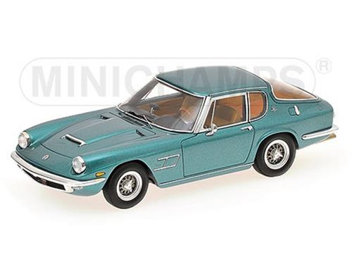 Maserati: Mistral Coupe (1966) - Verde Metálico - 1:43