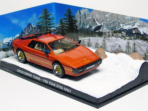 Diorama: Lotus Sprit Turbo - James Bond - 007 For Your Eyes Only (007 - Somente Para Seus Olhos) - 1:43