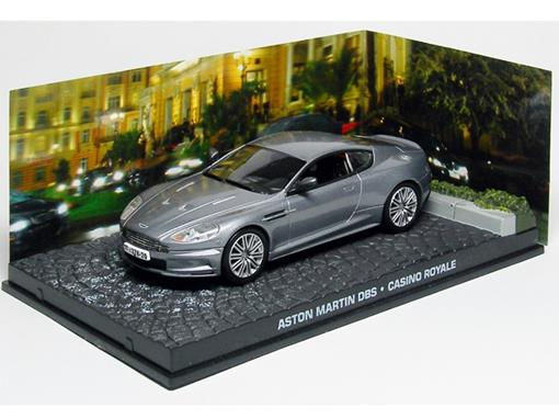 Diorama: Aston Martin DBS - James Bond - 007 Casino Royale - 1:43