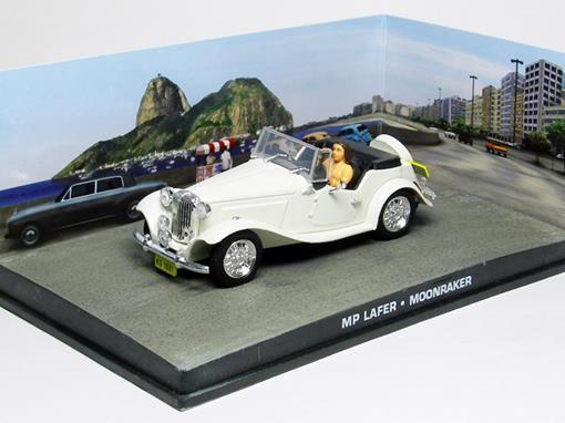 Diorama: MP Lafer - James Bond - 007 Moonraker (007 - Contra o Foguete da Morte) - Branco - 1:43