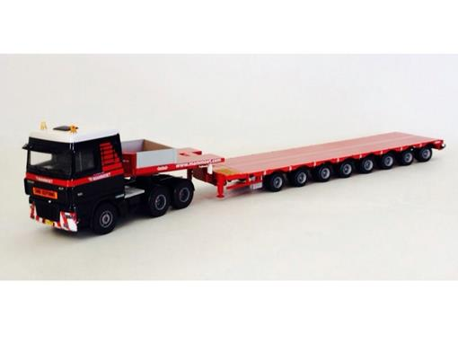 DAF: 95XF with MCO 121-08V Lowloader 8 Axle -