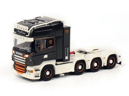 Scania: R6 Topline 8x4 Premium Line - Cavalo - 1:50