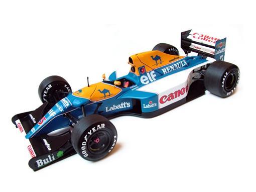 Williams: Renault FW14B #5 (1992) GP Germany - Nigel Mansell - 1:18