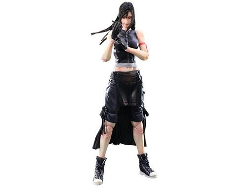 Boneco Tifa Lockhart #5 - Final Fantasy VII Advent Children - Play Arts Kai - Square Enix