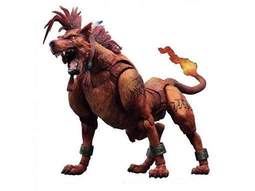 Boneco Red XIII #4 - Final Fantasy VII Advent Children - Play Arts Kai - Square Enix