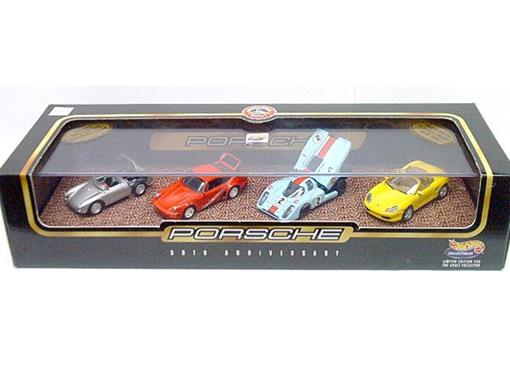 Set: Hot Wheels 100% - 50th Anniversary Of  Porsche - Series 1 - 1:64