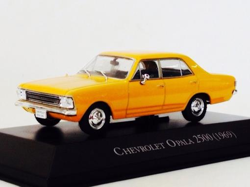 Chevrolet: Opala 2500 (1969) - Amarelo - 1:43