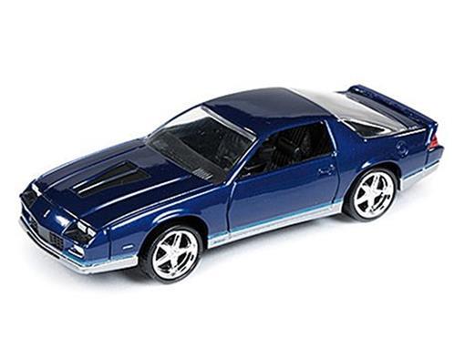 Chevrolet: Camaro Z28 (1984) - Azul - 1:64