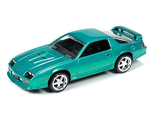 Chevrolet: Camaro Z28 (1992) - Turquesa - 1:64