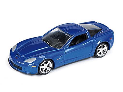 Chevrolet: Corvette Z06 (2012) - Azul - 1:64
