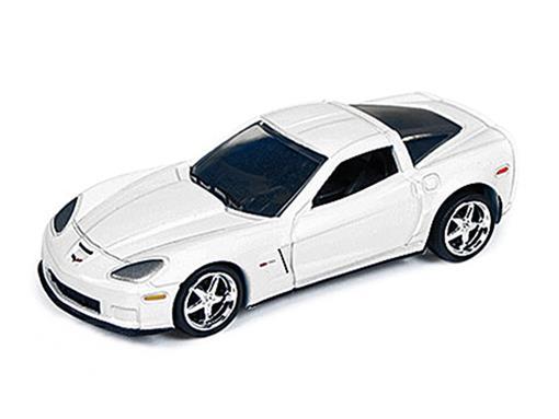 Chevrolet: Corvette Z06 (2012) - Branco - 1:64