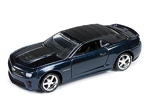 Chevrolet: Camaro ZL1 Conversível (2013) - Azul - 1:64