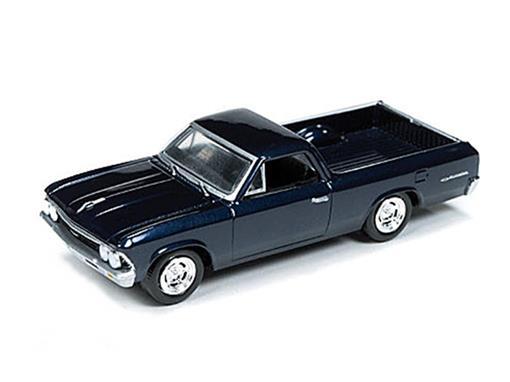 Chevrolet: El Camino (1966) - Azul - 1:64