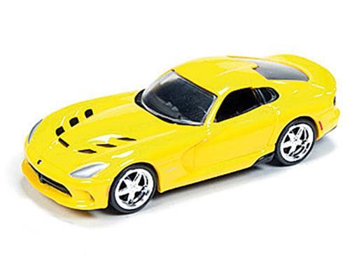 Dodge: Viper SRT (2014) - Amarelo - 1:64