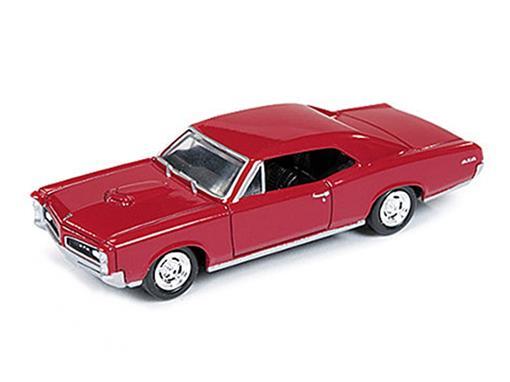 Pontiac: GTO (1966) - Vermelho - 1:64