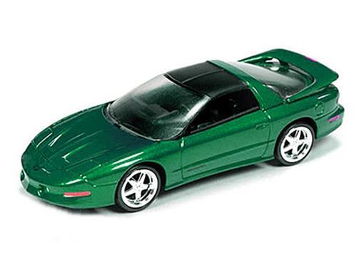 Pontiac: Firebird T/A (1993) - Verde - 1:64