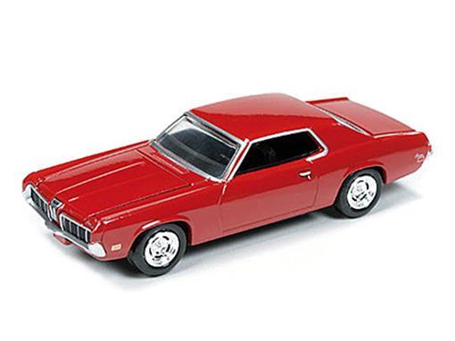 Ford: Mercury Cougar (1970) - Vermelho - 1:64