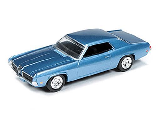 Ford: Mercury Cougar (1970) - Azul Metálico - 1:64