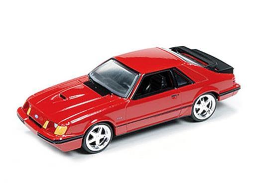 Ford: Mustang SVO (1984) - Vermelho - 1:64