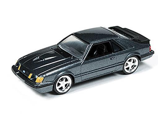 Ford: Mustang SVO (1984) - Grafite - 1:64