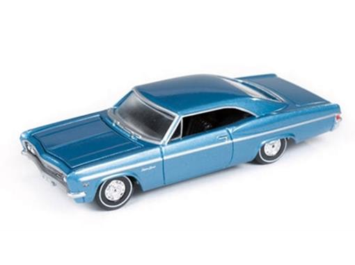 Chevrolet: Impala SS (1966) - Azul - Vintage Muscle - 1:64