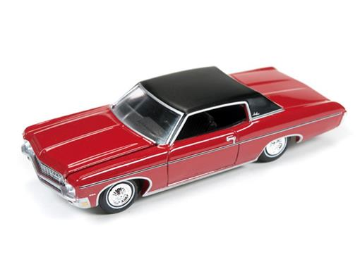 Chevrolet: Impala Custom Coupe (1970) - Vermelho - Luxury Cruisers - 1:64